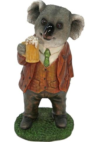 Casa Collection by Jänig Tierfigur »Herr Koala im Anzug trinkt Bier« kaufen