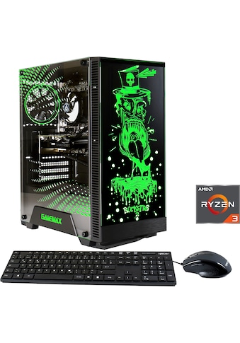 Hyrican »Multimedia PC 6544« Gaming - PC (AMD, Ryzen 3, RX 550, Luftkühlung) kaufen
