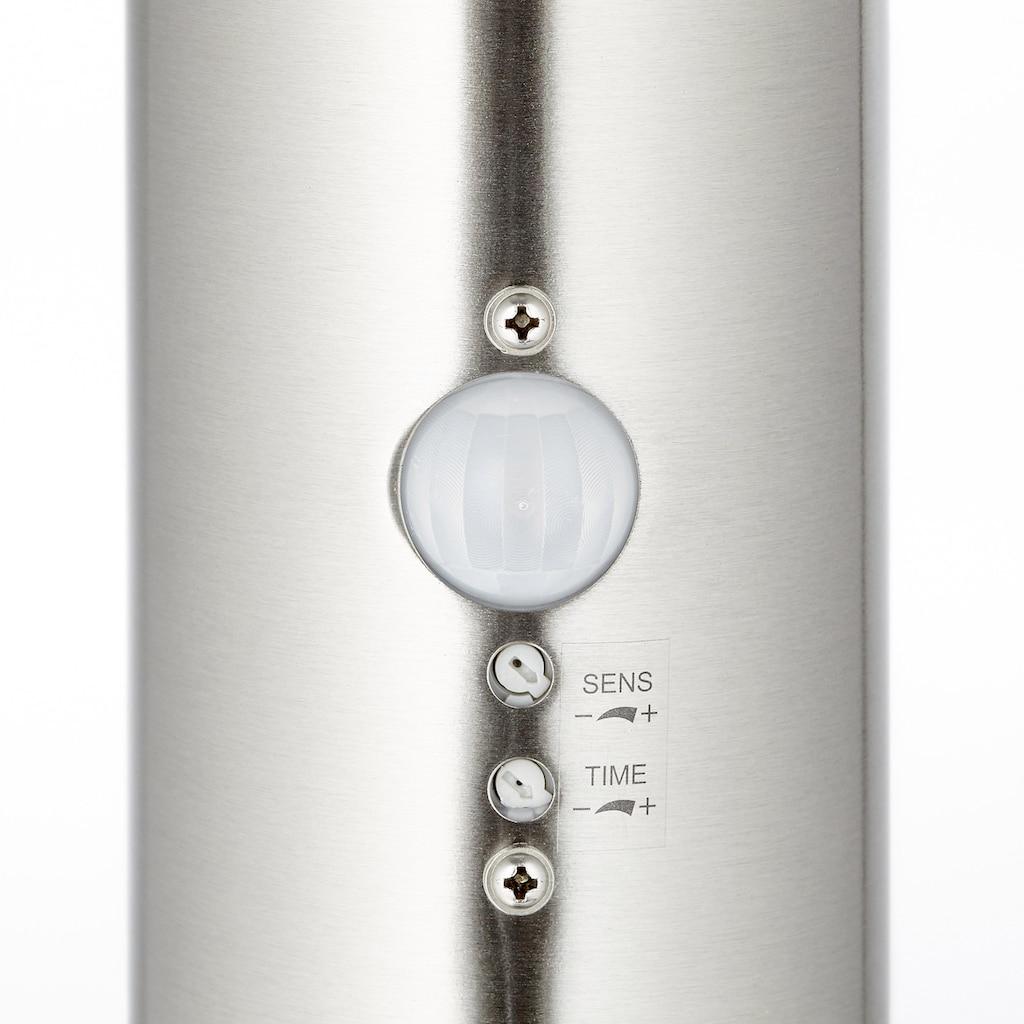 Brilliant Leuchten LED Stehlampe »BOLE«, Inkl. Bewegungsmelder, Erfassungswinkel 120 Grad