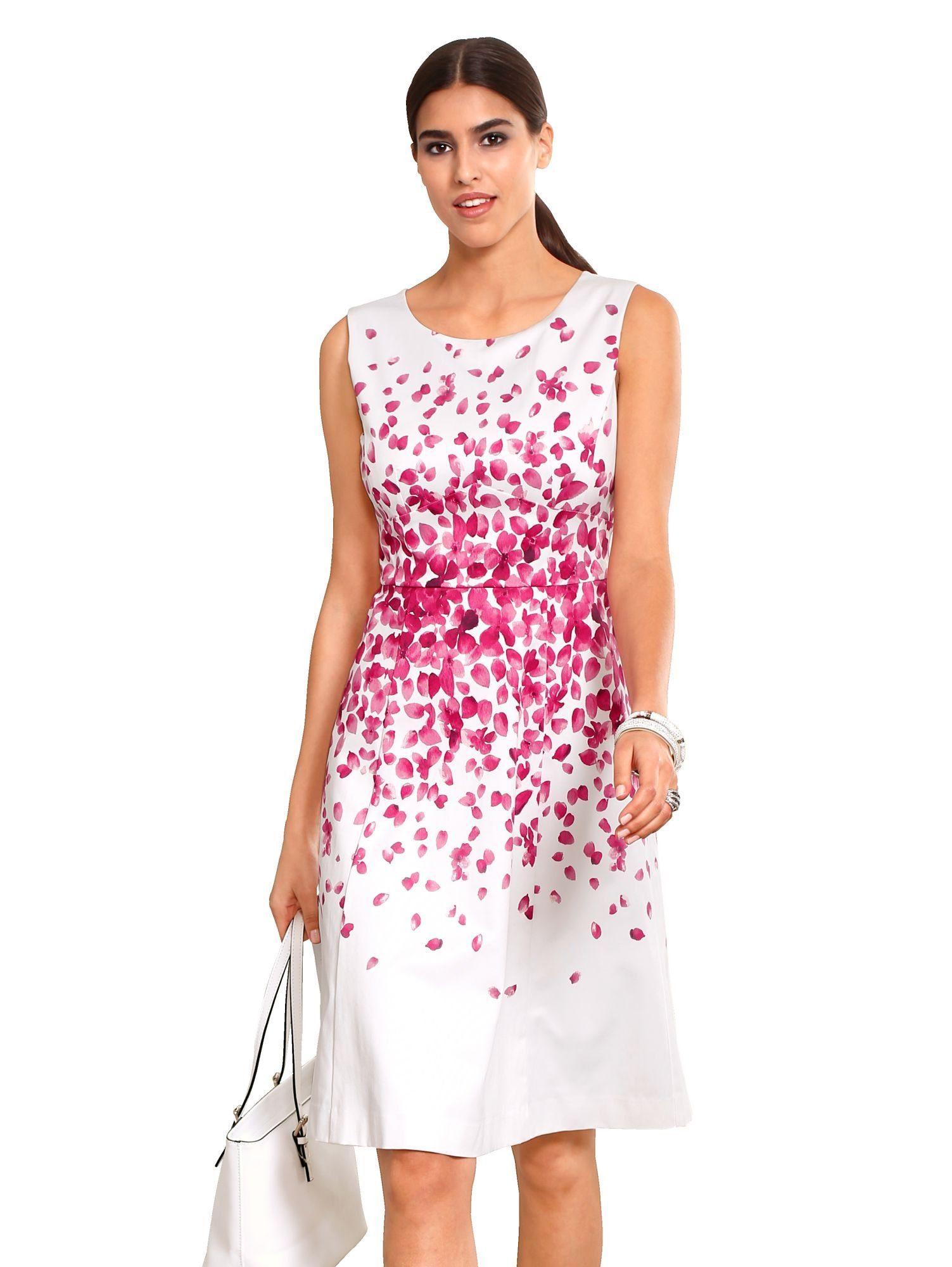 premium selection 07dad 5f5ec Alba Moda Kleid mit auffälligem Blumenprint im BAUR Onlineshop
