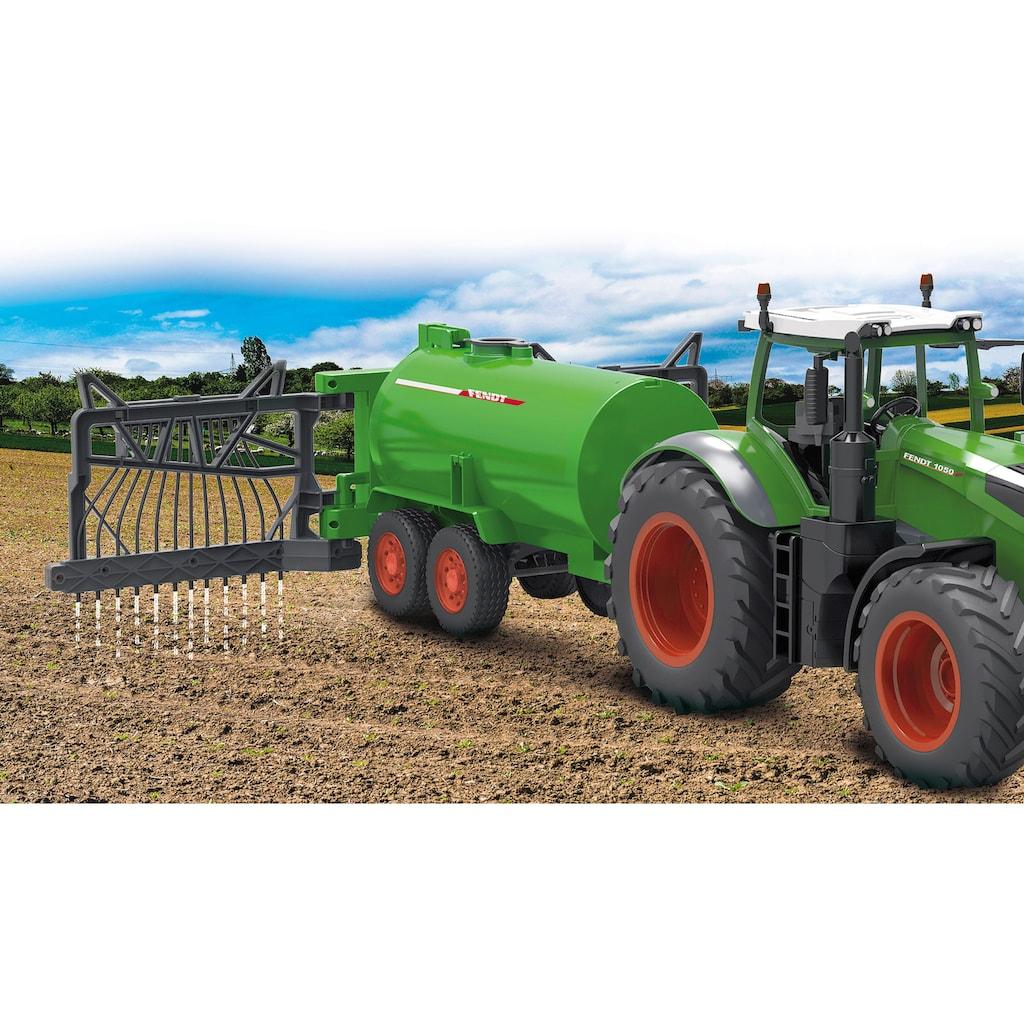 Jamara Spielfahrzeug-Anhänger »Fendt Fasswagen mit Schlauchverteiler«, und Spritzfunktion; für RC-Traktor