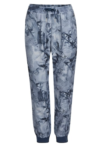 LeComte Joggpant mit Allover-Print in Tie-Dye-Optik kaufen
