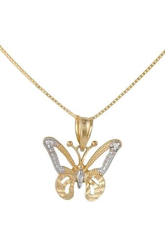Firetti Kette mit Anhänger »Schmetterling«, mit Diamant kaufen