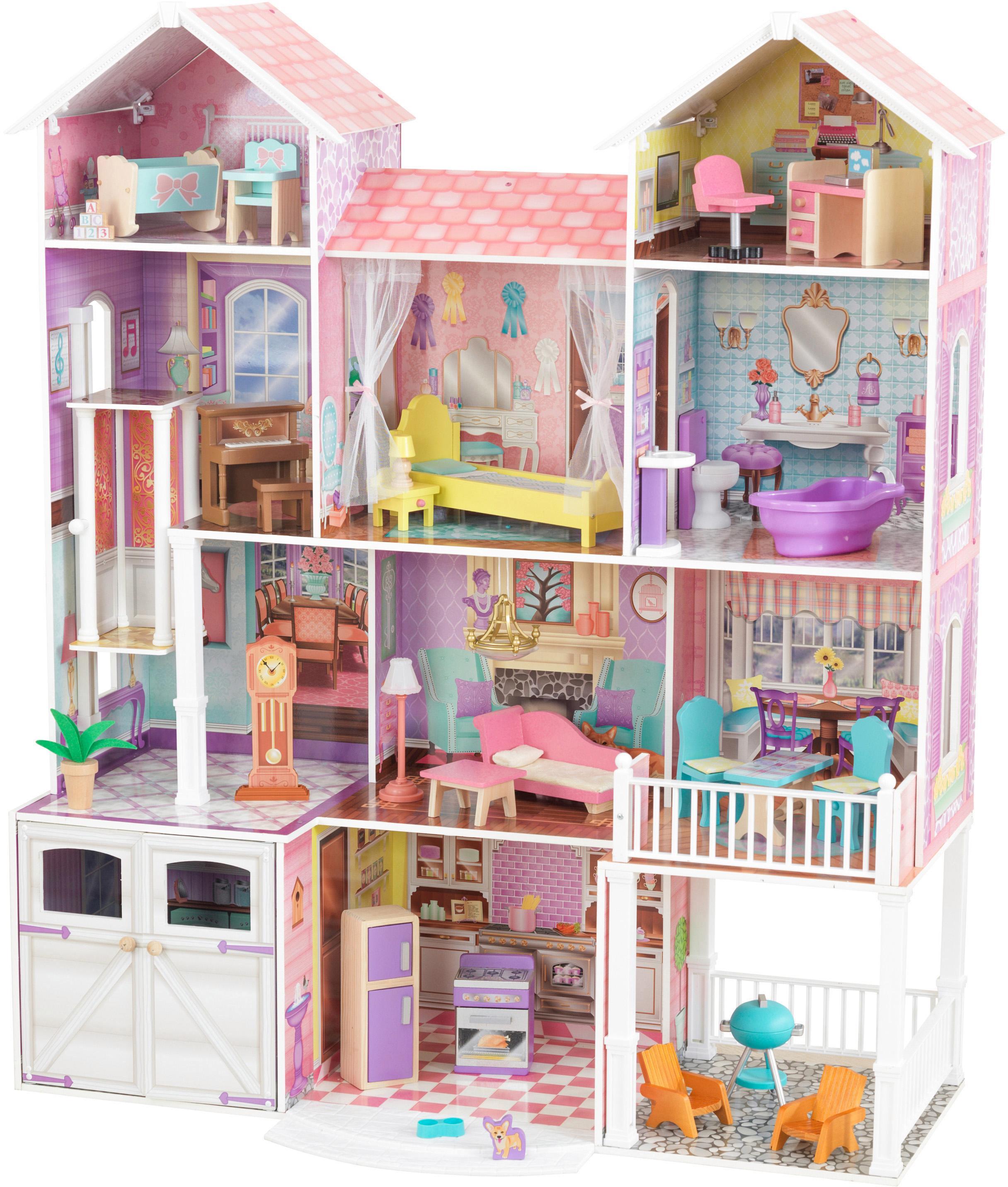 "KidKraft Puppenhaus ""Landgut"" Kindermode/Spielzeug/Puppen/Puppenhaus"