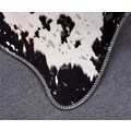 Gino Falcone Fellteppich »Bionda 28355«, fellförmig, 3 mm Höhe, Kunstfell, gedruckte Kuhfell-Optik, Wohnzimmer