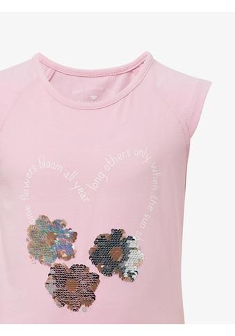 TOM TAILOR Tanktop »T - Shirt mit Artwork« kaufen