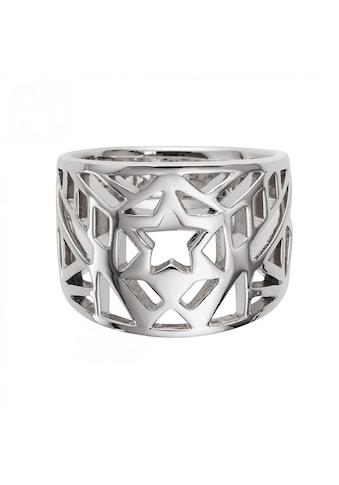 CAÏ Silberring »925/- Sterling Silber rhodiniert Stern« kaufen