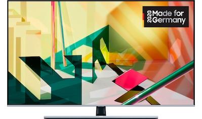 Samsung GQ55Q75T QLED - Fernseher (138 cm / (55 Zoll), 4K Ultra HD, Smart - TV kaufen