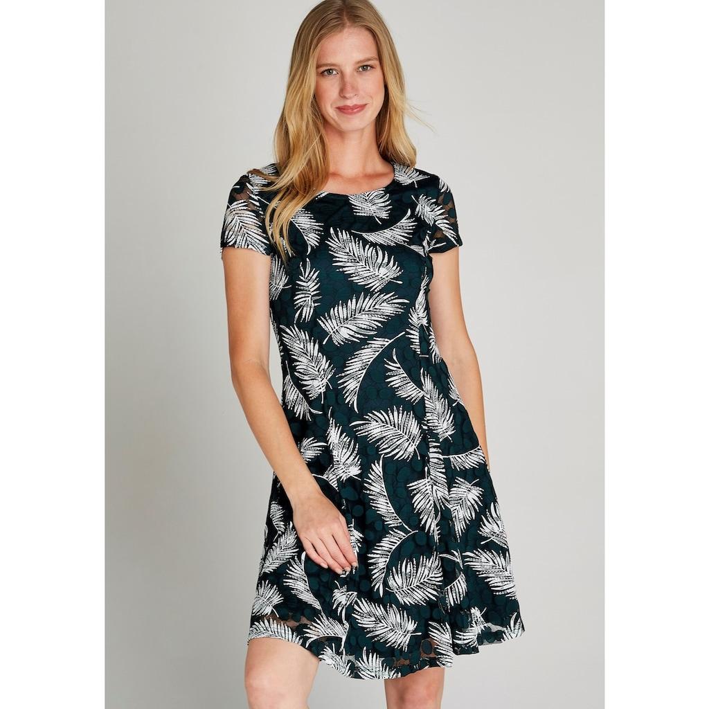 Apricot Meshkleid »Fern Rubber Print Skater Dress«, mit Farn-Druck
