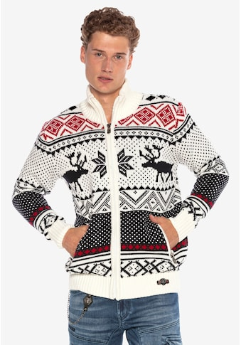 Cipo & Baxx Strickjacke, im skandinavischen Look kaufen