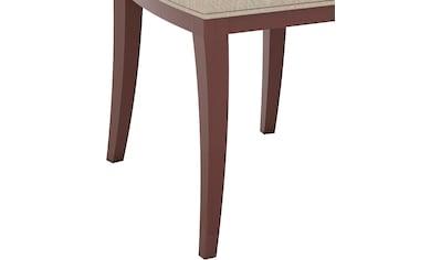 SELVA Stuhl »Vera«, Modell 1612, in drei verschiedenen Holzfarben und Stuhlbeinen,... kaufen
