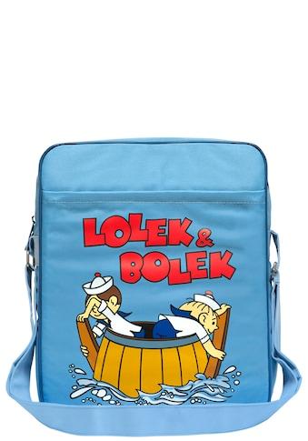 LOGOSHIRT Schultertasche mit Lolek und Bolek - Aufdruck »Auf Hochsee« kaufen