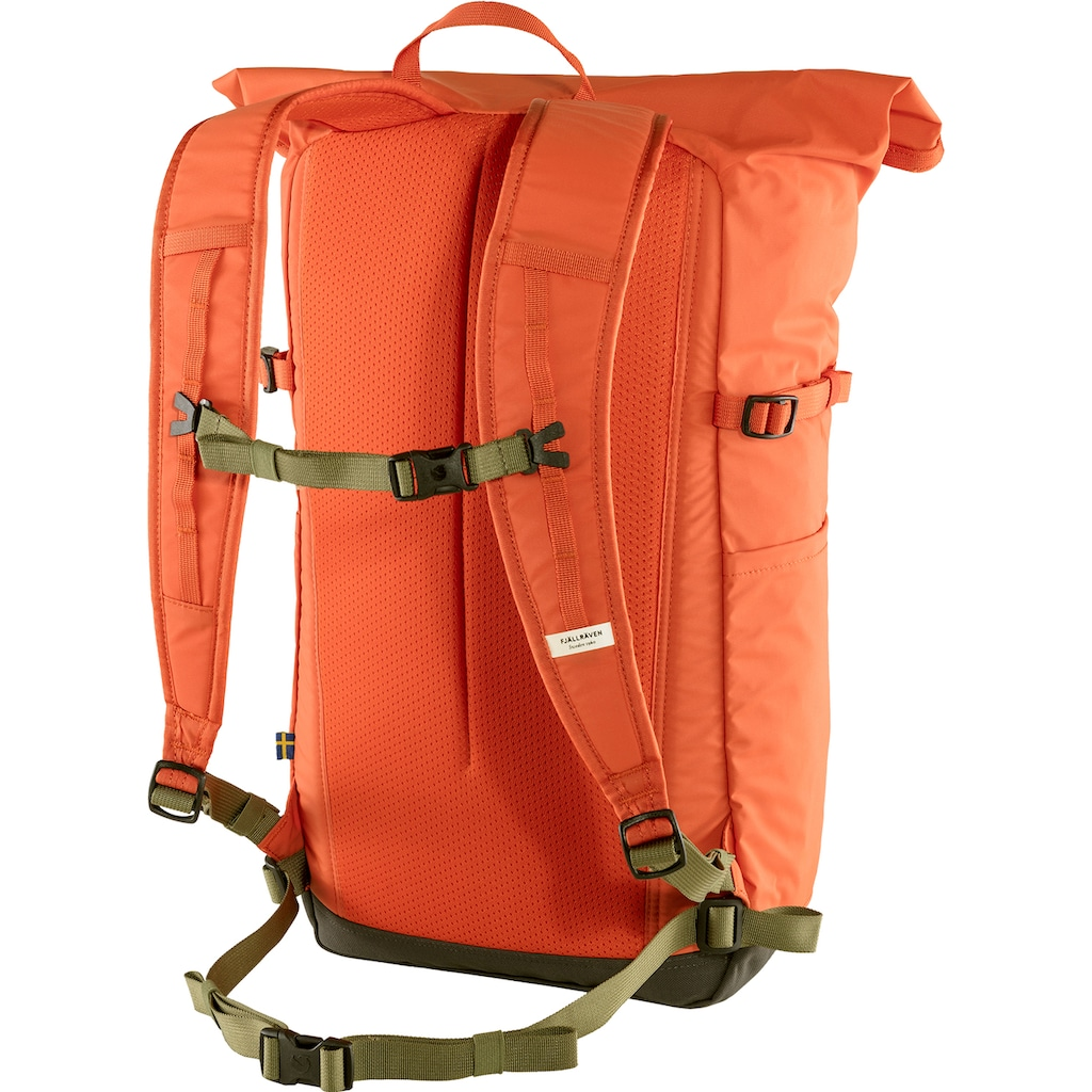 Fjällräven Laptoprucksack »High Coast Foldsack 24, rowan red«