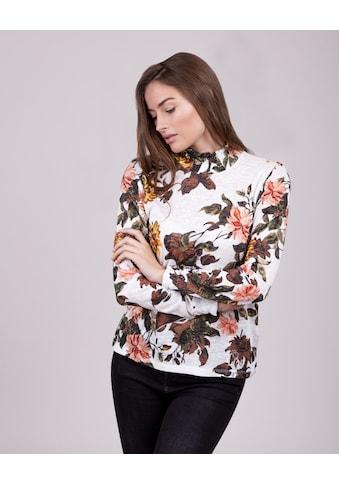 Key Largo T-Shirt »FIELD«, mit tollem Muster kaufen