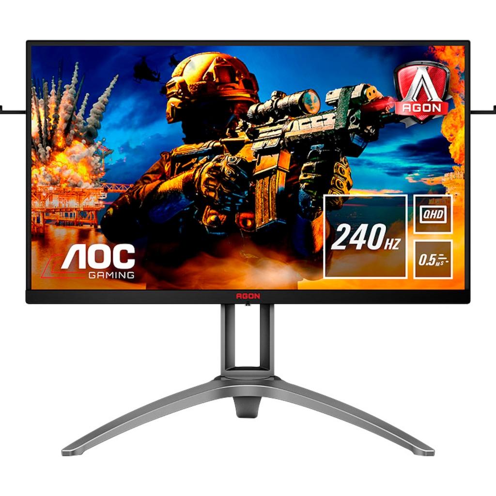"""AOC Gaming-Monitor »AG273QZ«, 69 cm/27 """", 2560 x 1440 px, QHD, 0,5 ms Reaktionszeit, 240 Hz, inkl. Office-Anwendersoftware Microsoft 365 Single im Wert von 69 Euro"""