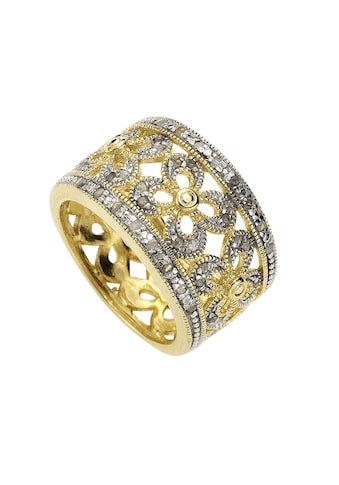 Diamonds by Ellen K. Fingerring »925/- Sterling Silber Diamant 0,20ct.«, Ring kaufen