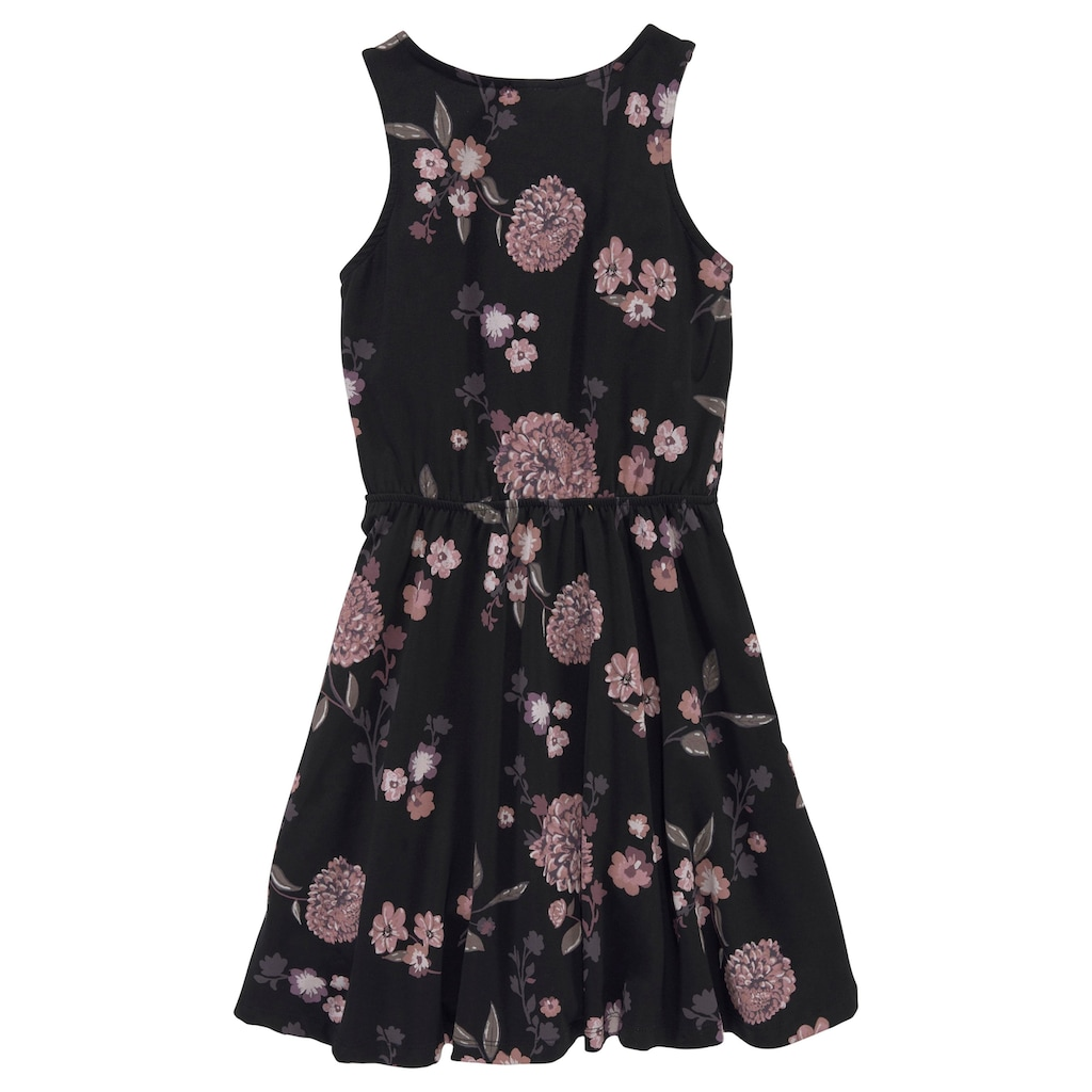 KIDSWORLD Jerseykleid, mit Blumen bedruckt