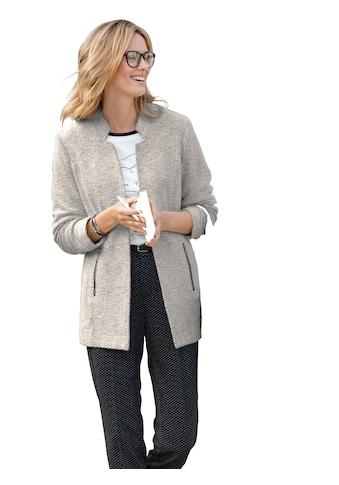 Ambria Longblazer in eleganter Bouclé - Optik kaufen