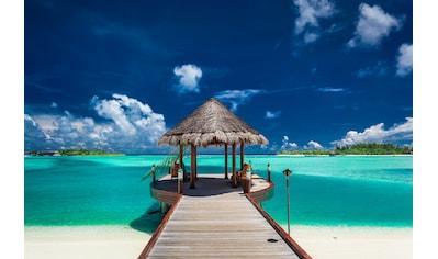 Papermoon Fototapete »Boat Jetty Maldives« kaufen