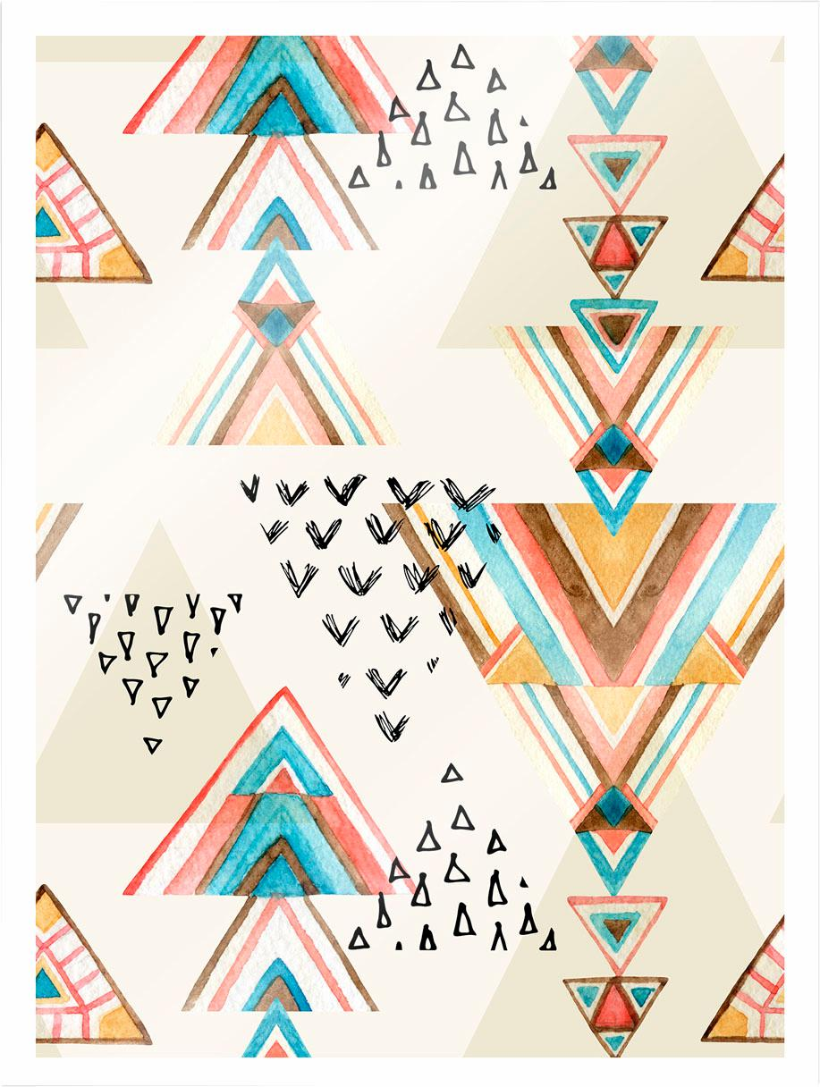 Poster »Bohemian Triangles« (2 St.)