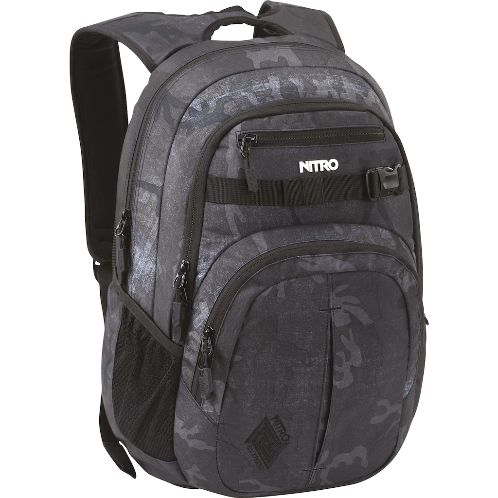 NITRO Schulrucksack »Chase, Forged Camo«