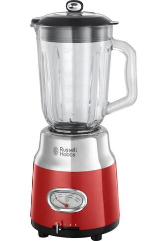 RUSSELL HOBBS Standmixer Retro Ribbon Red 25190 - 56, 800 Watt kaufen