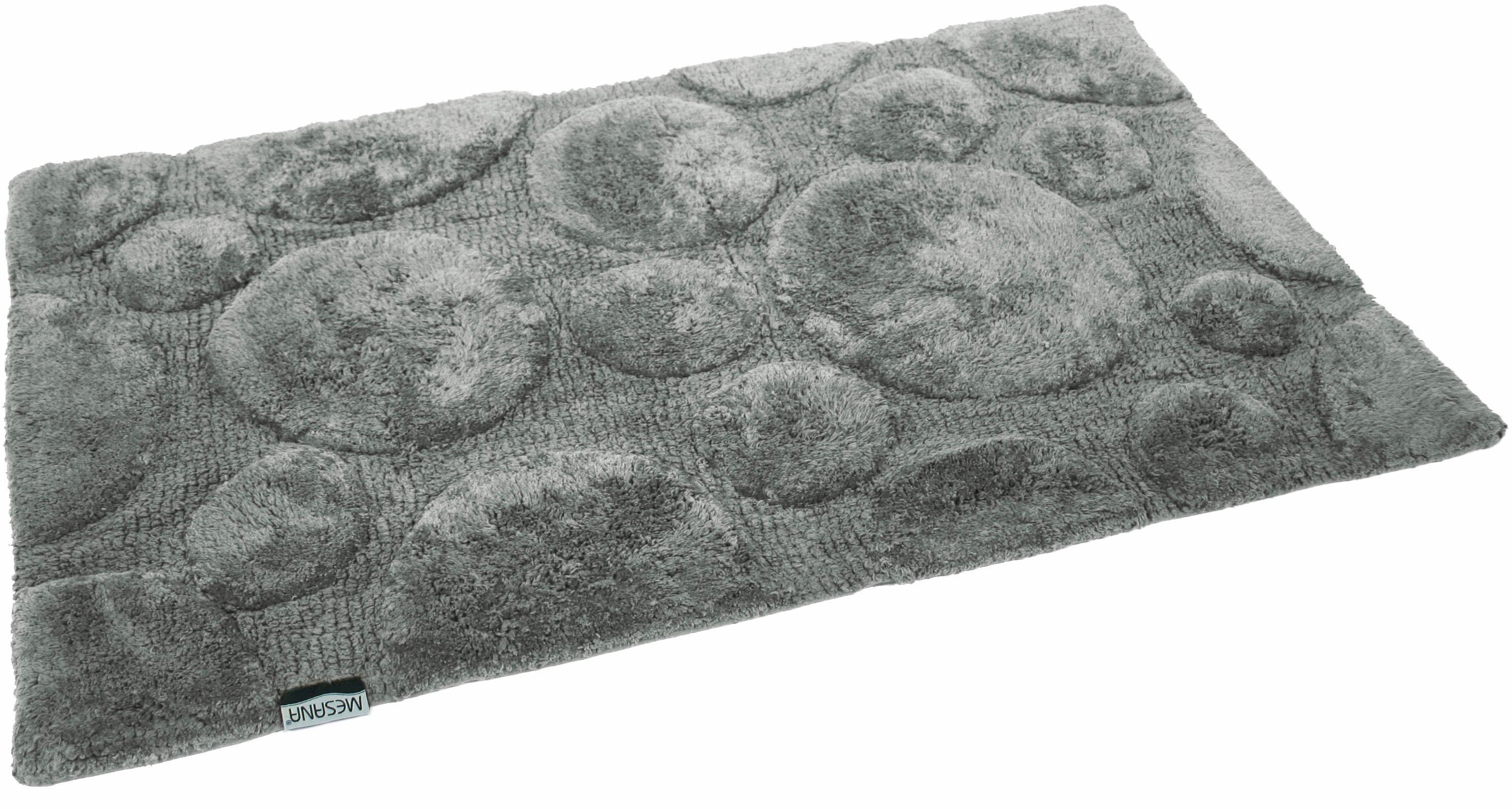 Badematte Stones MESANA Höhe 15 mm rutschhemmend beschichtet fußbodenheizungsgeeignet