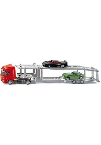 Siku Spielzeug-LKW »SIKU Super, Autotransporter«, inkl. 2 Spielzeugautos kaufen