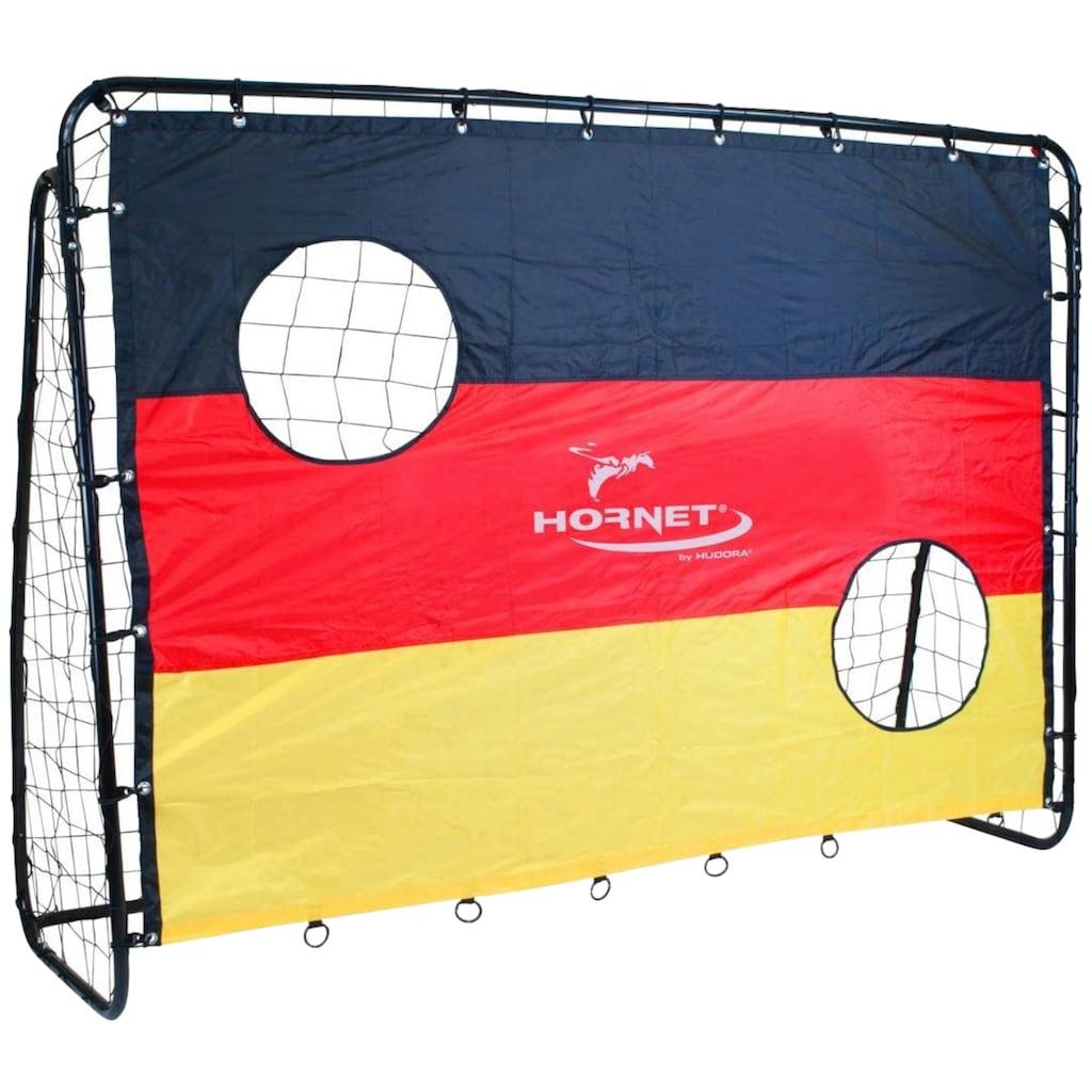 Hudora Fußballtor »Hornet Goal Match«, BxLxH: 76x213x152 cm, mit Torwand