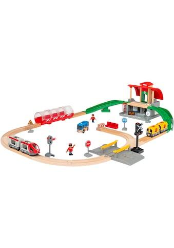 BRIO® Spielzeug-Eisenbahn »Großes City Bahnhof Set«, mit Soundeffekten kaufen