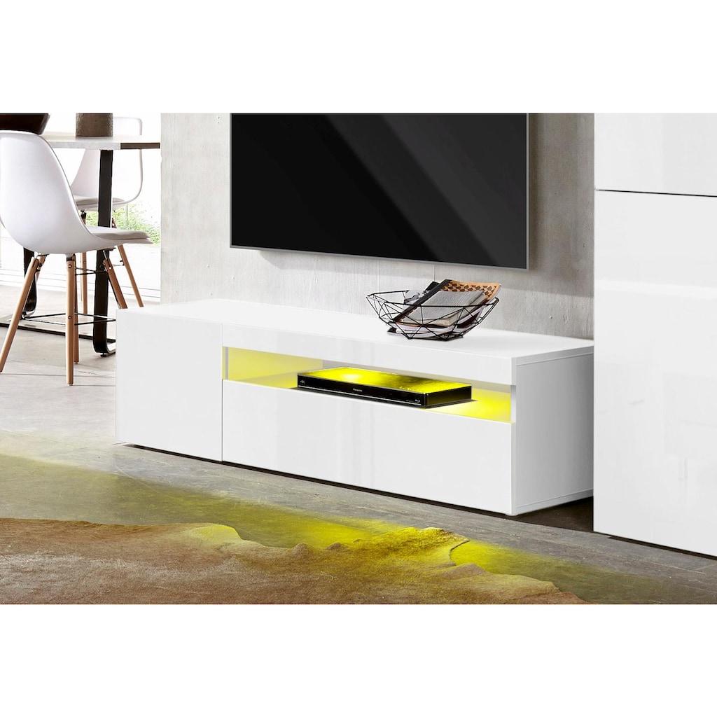 Tecnos Lowboard, Breite 130 cm, ohne Beleuchtung