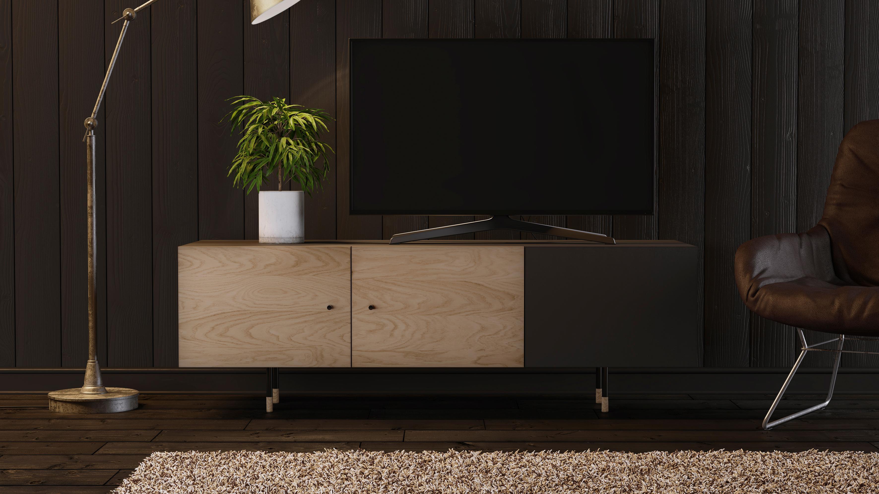 Woodman TV-Lowboard Daniel mit Soft Close Funktion Breite 150 cm