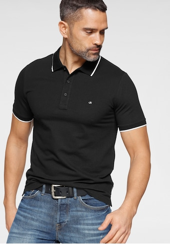 Calvin Klein Poloshirt »STRETCH TIPPING SLIM POLO« kaufen