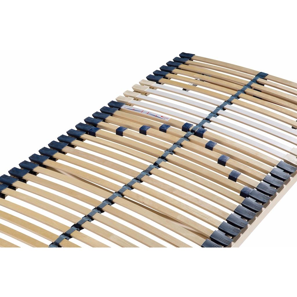 Breckle Lattenrost »Manao Fix 30 Leisten«, 30 Leisten, Kopfteil manuell verstellbar, Komfort - langlebig, individuelle Härteinstellung, 7- Zonen Lattenrost, Made in Germany