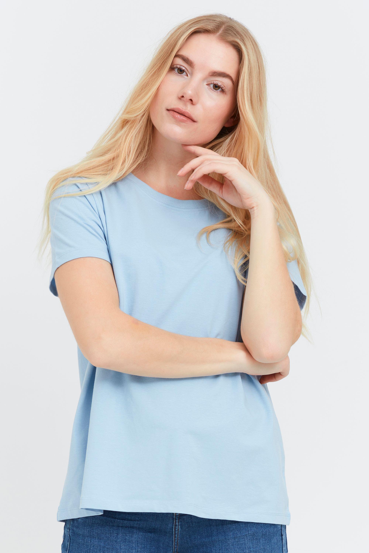 fransa -  T-Shirt  Damen T-Shirt basic, Damen T-Shirt