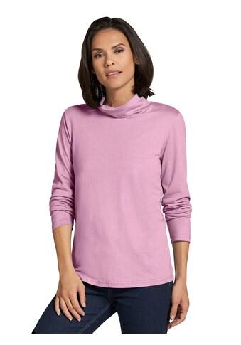 Casual Looks Shirt in geschmeidiger Feinstrick - Qualität kaufen