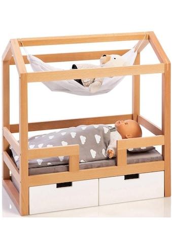 """MUSTERKIND® Puppenbett """"Barlia, natur/weiß"""" kaufen"""