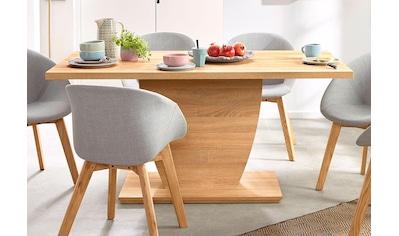 Homexperts Säulen-Esstisch, Breite 140 oder 160 cm kaufen