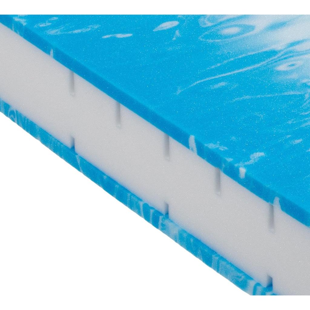 BeCo EXCLUSIV Gelschaummatratze »Duo Gel Comfort«, 20 cm cm hoch, (1 St.), Wendematratze mit zwei unterschiedlich festen Liegeseiten