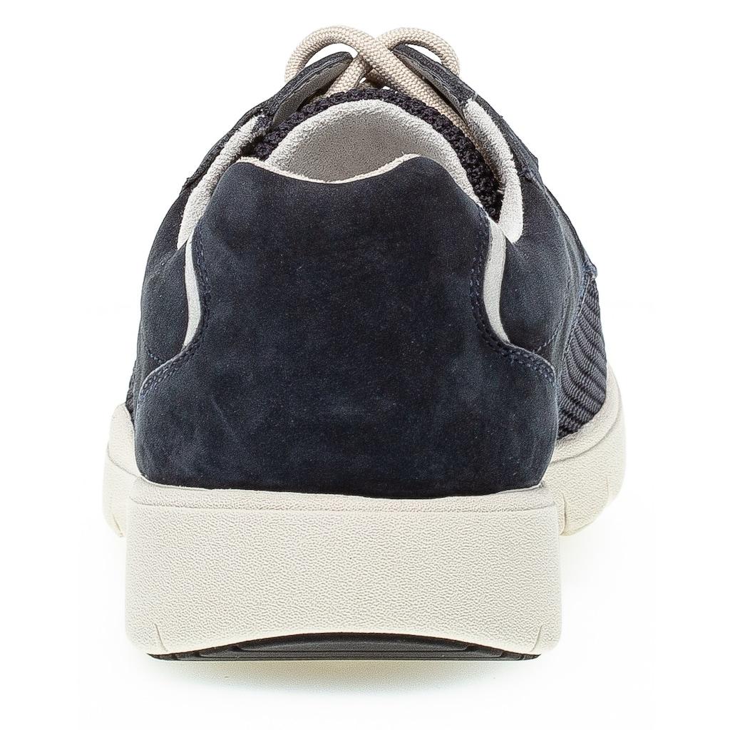 Pius Gabor Sneaker, mit seitlichem Logoschriftzug