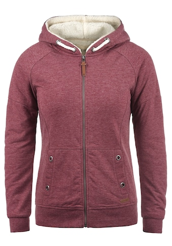 DESIRES Kapuzensweatjacke »Mandy Pile«, Sweatshirtjacke mit Innefutter aus Teddyfell kaufen