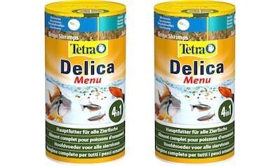 TETRA Fisch - Flockenfutter »Delica Menu«, 2x100 ml kaufen