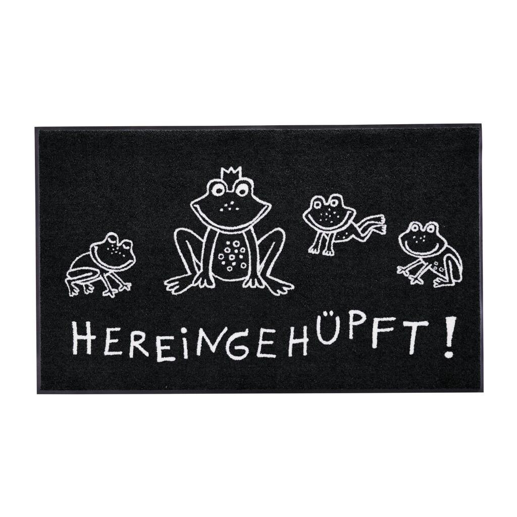 Fußmatte Hereingehüpft Hereingehüpft, waschbar