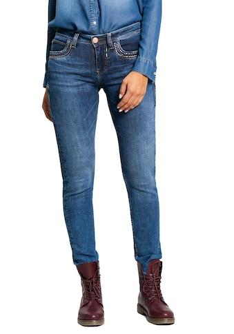 BLUE FIRE Jeans mit Used - Waschung »Nancy« kaufen