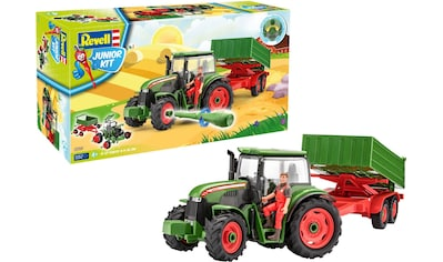 """Revell® Modellbausatz """"Junior Kit Traktor & Anhänger, grün mit Figur"""", Maßstab 1:20, (Set) kaufen"""