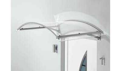 Gutta Bogenvordach »TYP BV SECCO«, 150x90x32 cm, silberfarben - transparent kaufen