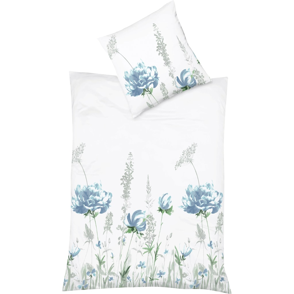 fleuresse Wendebettwäsche »Saint Tropez«, grazile Blumen und Gräser