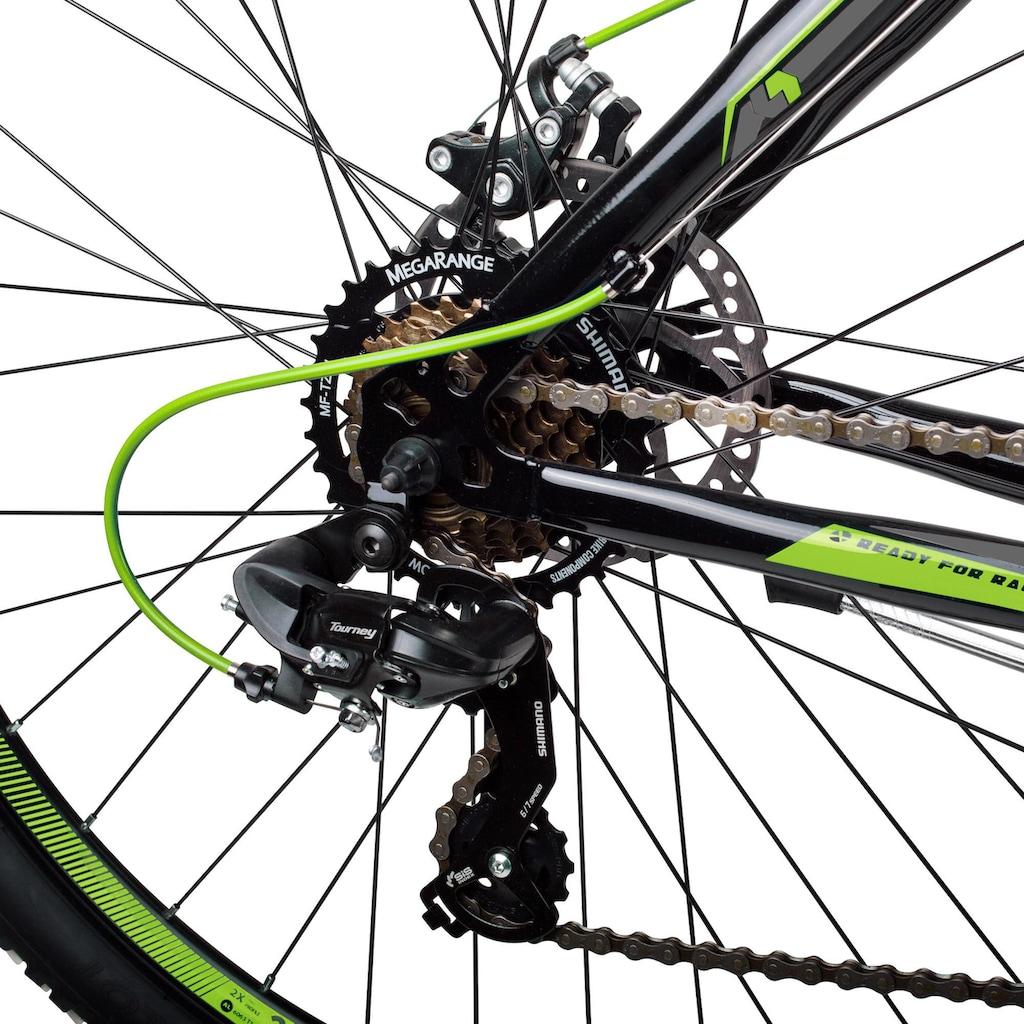 bergsteiger Mountainbike »Canberra«, 21 Gang Shimano Tourney RD-TY300 Schaltwerk