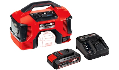 Einhell Kompressor »PRESSITO«, Power X-Change, 2,5 Ah, inkl. Akku, Ladeg., Absaug-Adapter kaufen