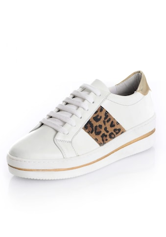 Alba Moda Sneaker mit seitlichem Leo - Einsatz kaufen